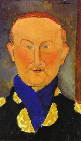 portrait of leon bakst 1917 XX the national gallery of art washington dc usa